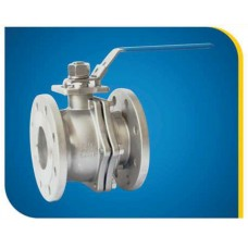 2 PC Ball Valve Stainless Steel 316 PN16 Flange End