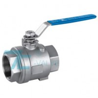 2 PC Ball Valve Stainless Steel 316 Screwed End