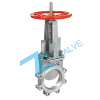 Knife Gate Valve Stainless Steel 304 ANSI 150LB Flange End