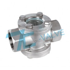 Sight Glass Stainless Steel 316 Screwed End