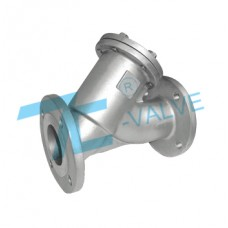 Y-Strainer Stainless Steel 304 ANSI 150LB Flange End
